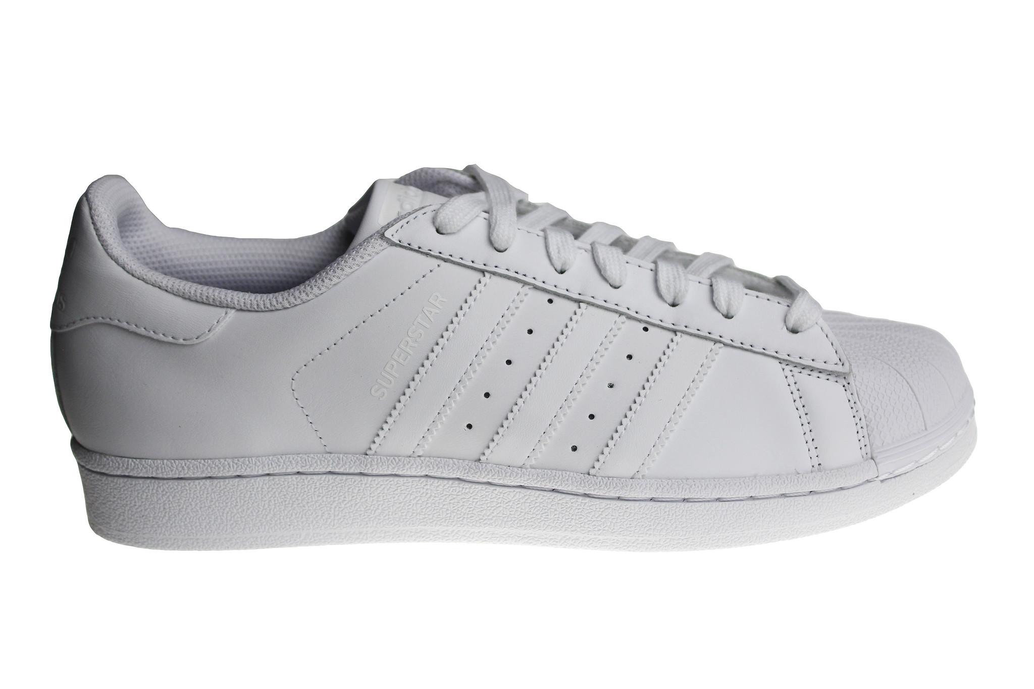 adidas superstar heren zwart wit