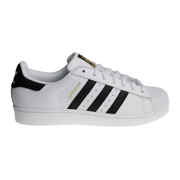 Adidas Superstar (White/Gold/Black) C77124 Men's Sneakers