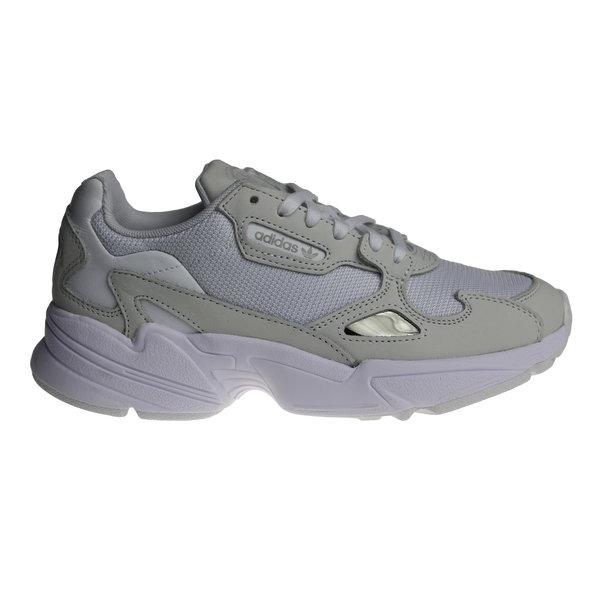 Adidas Falcon W (Grijs/Wit) B28128 Dames Sneakers