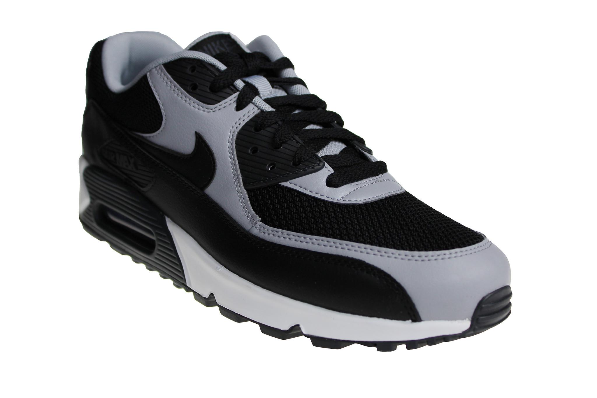 meilleures baskets 60ef8 df0f6 Nike Air Max 90 Essential (Black/Grey/White) 537384 053 Men's Sneakers