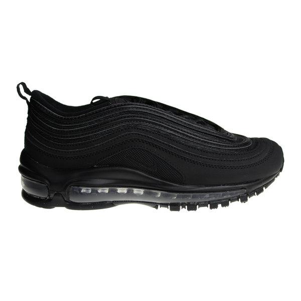 """Nike Air Max 97 OG BG """"Triple Black"""" AV4149 001 Juniors' Sneakers"""