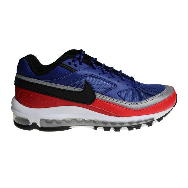Nike Air Max 97/BW (Classic) Blauw/Rood/Zwart/Grijs/Wit AO2406 400 Heren Sportschoenen
