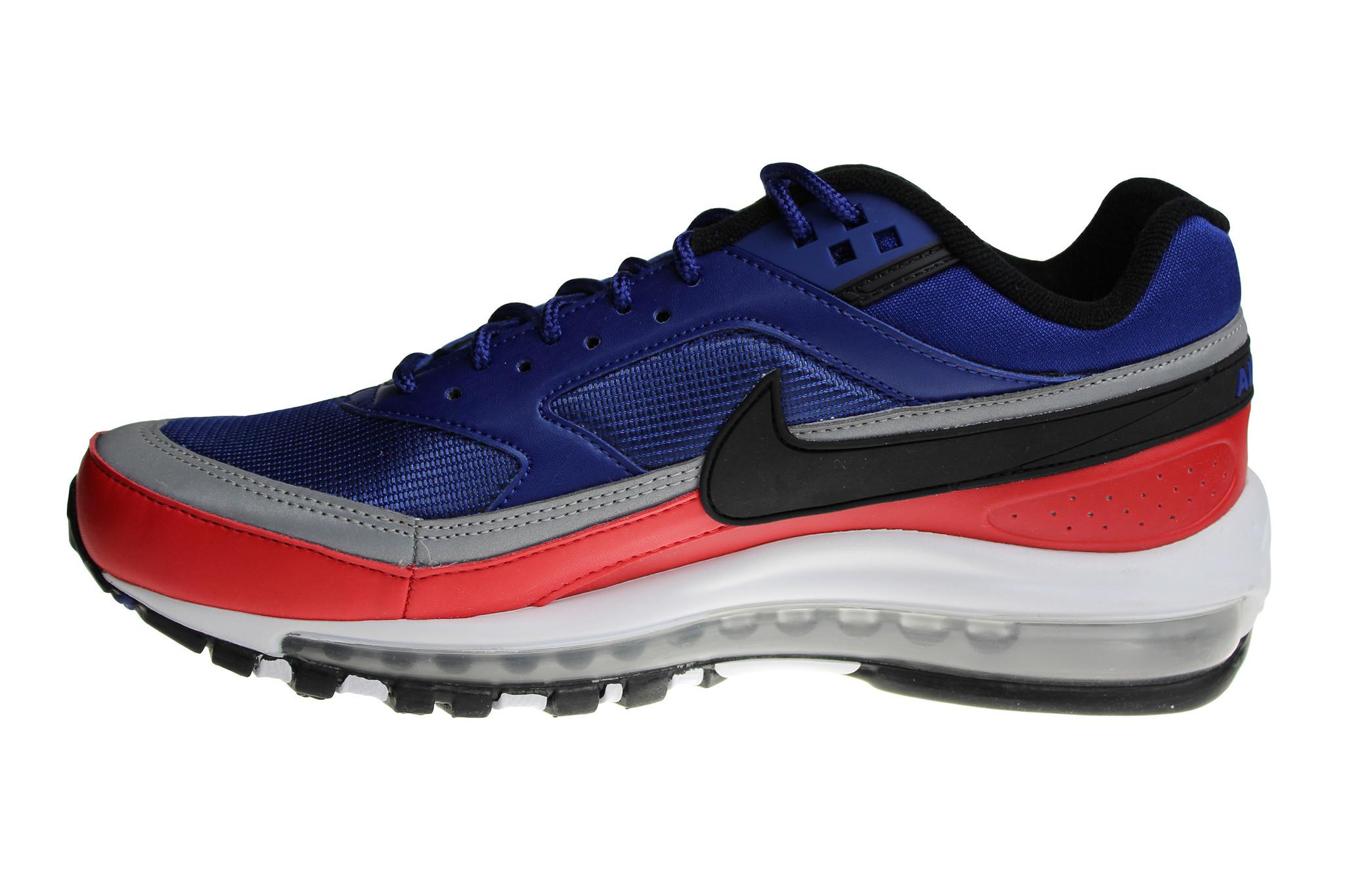 Nike Air Max 97BW (Classic) BlueRedBlackGrayWhite AO2406 400 Men's Sport Shoes