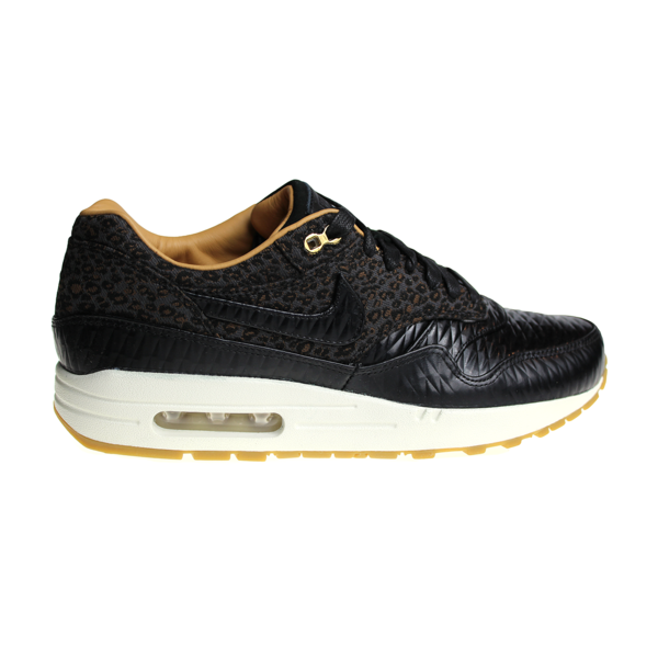 "Nike Air Max 1 FB Woven ""Leopard"" 616315 001 Men's Sneakers"
