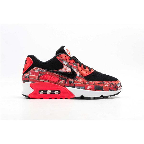 "Nike Air Max 90 Print x Atmos ""OG Boxes"" AQ0926 001 Heren Sneakers"