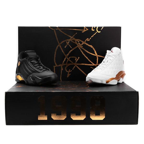 Jordan 13 & 14 DMP Pack (Defining Moments Pack) 897563 900 Men's Sneakers