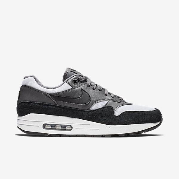 Nike Air Max 1 White/Gray/Black BQ5075 001 Men's Sneakers