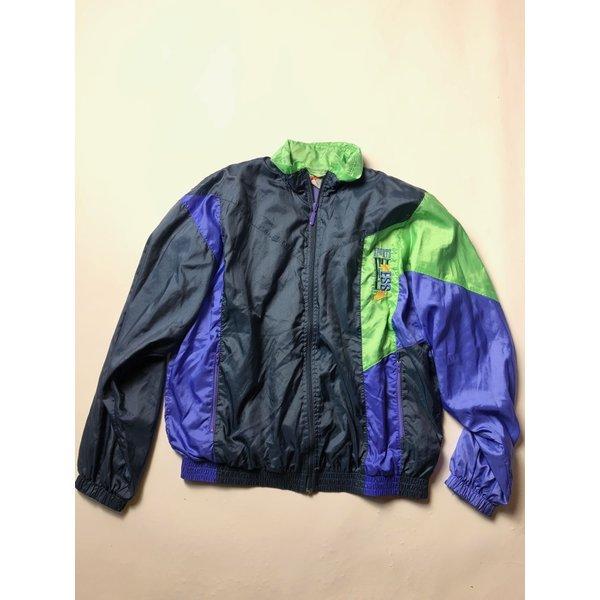 Nike Vintage Vest (Blauw/Paars/Groen) Heren Trainingsvest