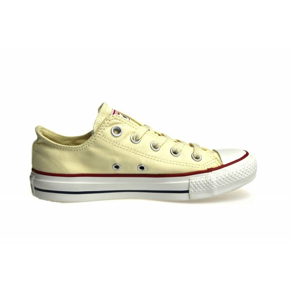 Converse All Star (Beige Low) Naturel Whit Ox Beige M9165C Chuck Taylor Canvas Sneaker