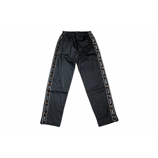 Australian Pantalon Triacetat Met Bies Black (Zwart) 85057.003 Herenbroeken