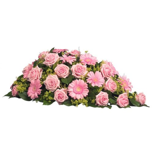 Rouwstuk roze