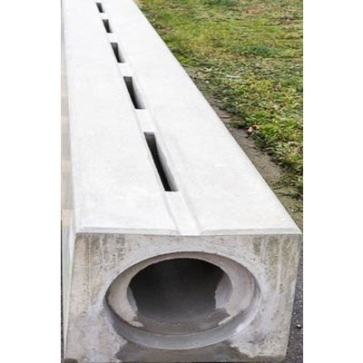 Concealed gutters of concrete, KOMO approved