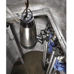 Die Brunnenpumpen vuilwaterpomp