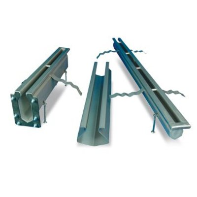 Stainless steel stainless steel slotted channels