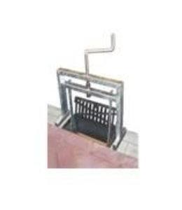 ACO Kolk Aufzug Zeilen-Tool Multipoint K200. Für zweiteilige Rinnen.