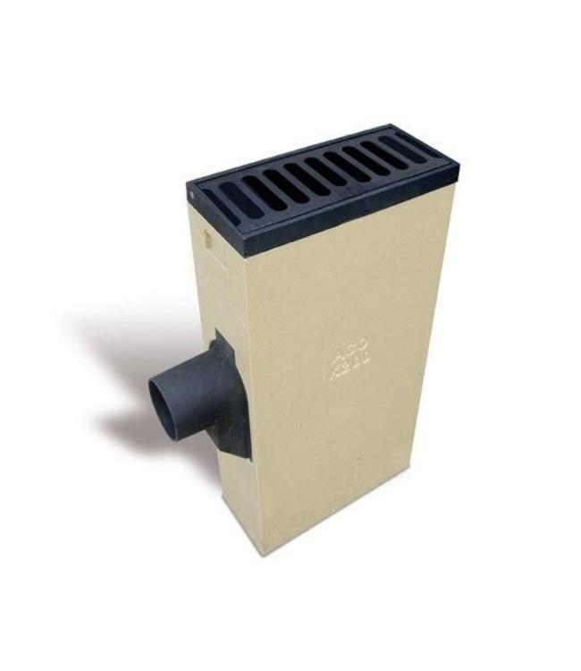 ACO Polymerbeton Linie Buttern Mehr K200LSLR retro Gitter, Keil 160 mm, 2-teilig