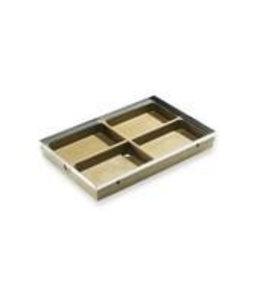 ACO Aco sauberen Teppich, voetenschraper bottompart, Polymerbeton 750x500mm