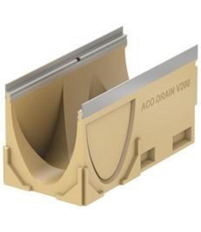 ACO Aco Ablaufrinne Multi V200S Typ Edelstahl 10,1 l = 0,5m