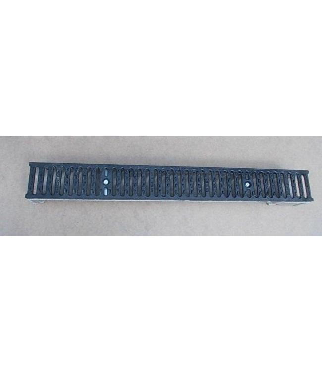 Diederen Drain Gutter Self type CS 10, cast iron slotted grating, l = 0.5m