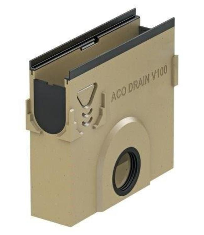 ACO Vuilvanger Multiline V100G, afvoer 110mm, hoogte 600mm