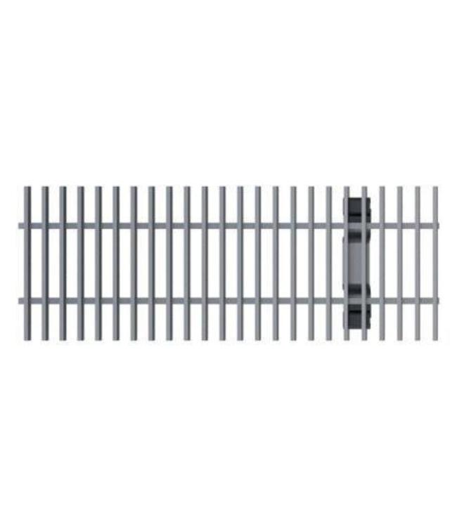 ACO Aco galvanized steel cross bar grille Multiline V100, l = 1m, Class B, 125kN