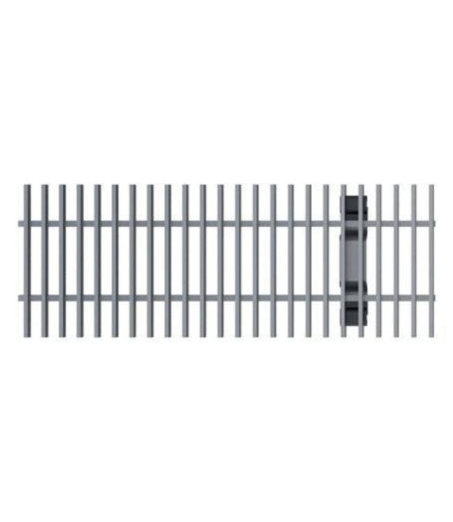 ACO Aco stainless steel cross bar grille Multiline V100, l = 1m, Class B, 125kN