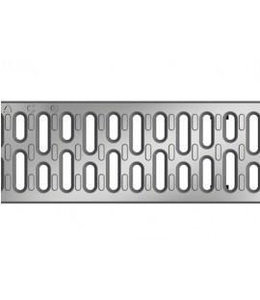 ACO Aco Edelstahl Spaltlüftungsgitter Multiline V100, l = 1 m, Klasse A, 15 Kn