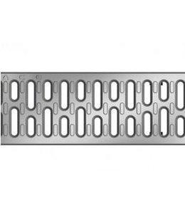 ACO RVS sleufrooster Multiline V100, l=1m, klasse A, 15KN, sleufbreedte 10mm