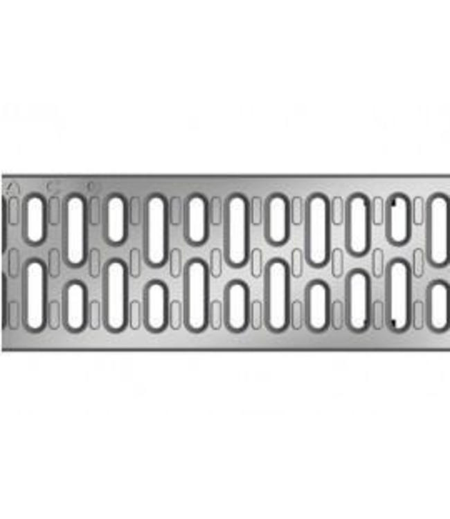 ACO RVS sleufrooster Multiline V100, l=1m, klasse A, 15KN