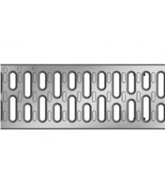 ACO RVS sleufrooster Multiline V100, l=1m, klasse C, 250KN