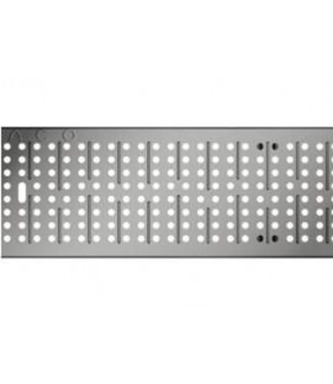 ACO Aco galvanized steel perforated grille Multiline V100, l = 1m, Class C, 250kN