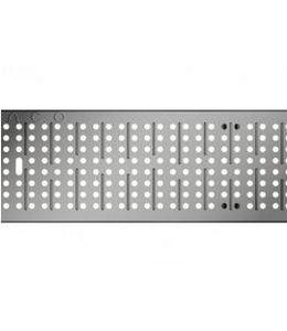 ACO Aco verzinktem Stahl Lochgitter Multiline V100, l = 1 m, Klasse A, 15 Kn