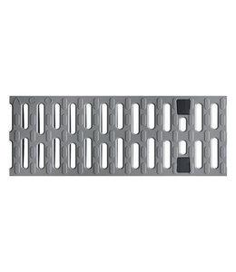 ACO Kunststof sleufrooster Multiline V100, l=0,5m, klasse C, 250KN, sleufbreedte 8mm, grijs