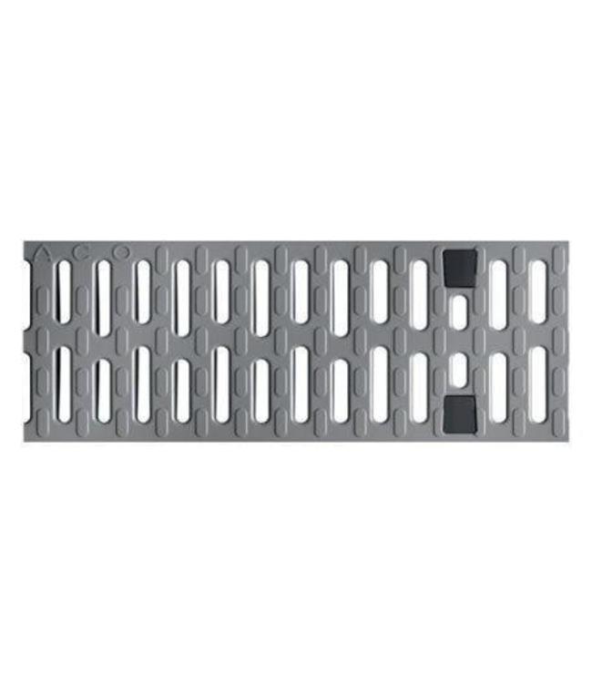 ACO Kunststof sleufrooster Multiline V100, l=0,5m, klasse B, 125KN, grijs
