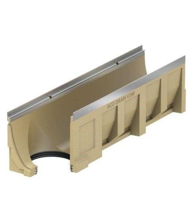 ACO Aco drain channel Multiline V300S type 10.0.2, l = 1m, under drain