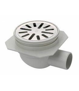 Aquaberg Kunststoff-Bodenablauf Typ 4011, Durchmesser 100 mm