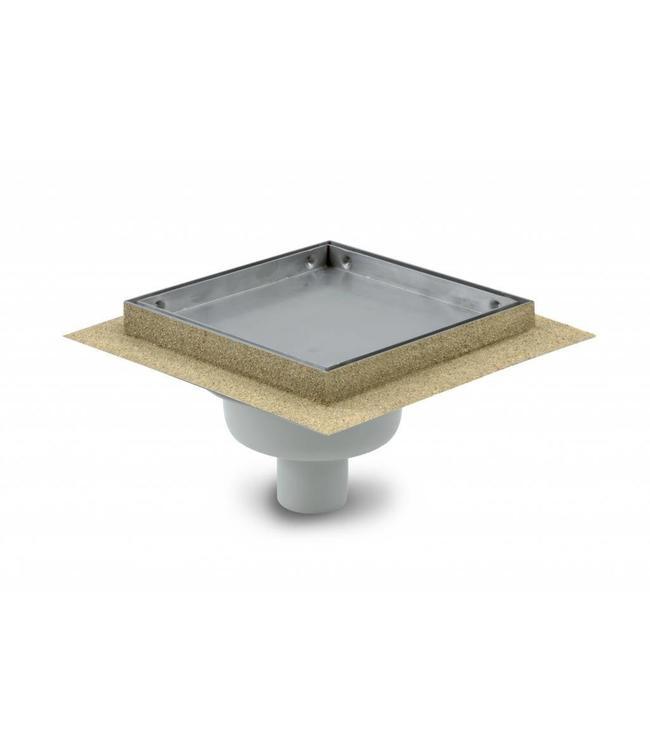Aquaberg Kunststof tegelput type 431515, 150x150mm