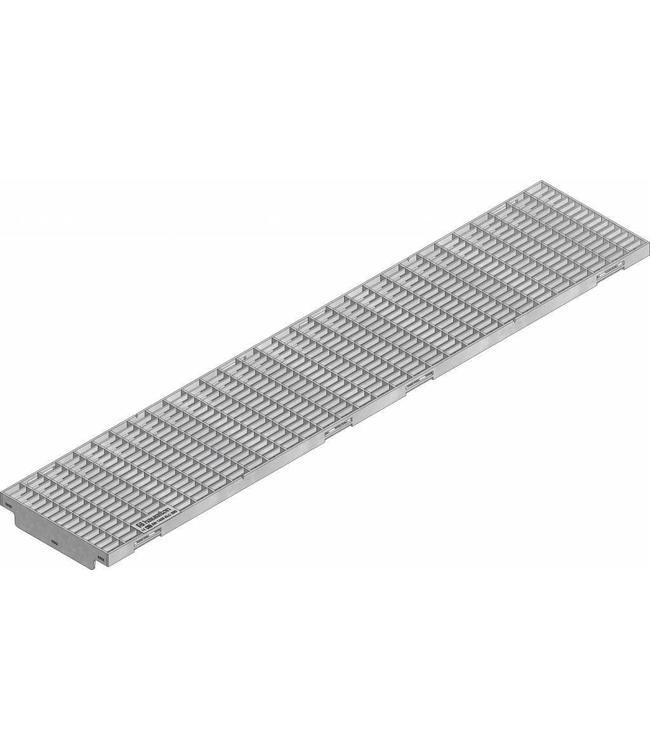 Hauraton Verzinktstalen maasrooster KS 150, l=1m, klasse C, 250KN
