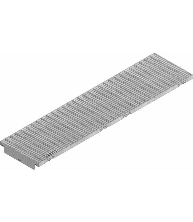 Hauraton Verzinkte Stahlmaschenrost KS 200, l = 1m, Klasse C / 250kN