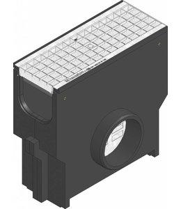 Hauraton Zandvanger Recyfix Standaard 150, l=0,5m, verzinktstalen mazenrooster klasse B/125KN
