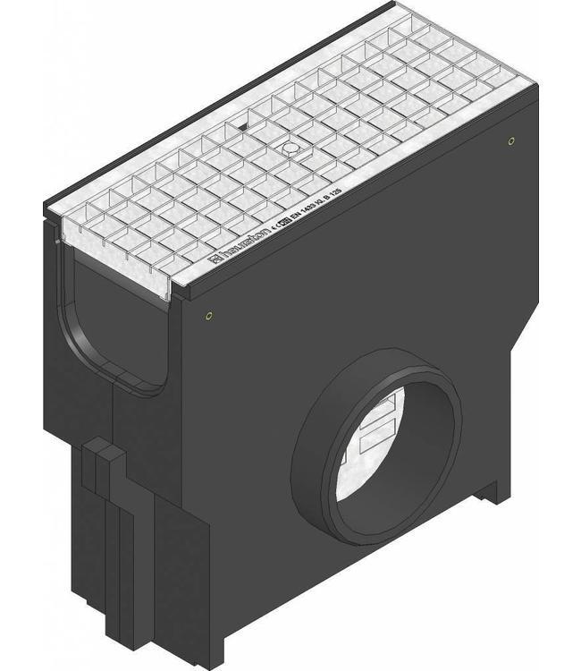 Hauraton Zandvanger Recyfix Standaard 150, l=0,5m, verzinktstalen maasrooster klasse B, 125KN
