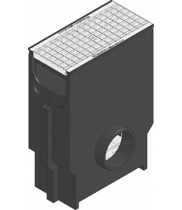 Hauraton Zandvanger Recyfix Standaard 200, l=0,5m, verzinktstalen maasrooster klasse B, 125KN
