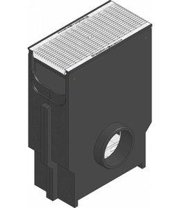 Hauraton Sandfang RECYFIX Standard 200, l = 0,5m, verzinktem Stahlgitterrost der Klasse B / 125kN