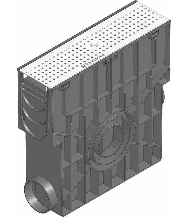 Hauraton Zandvanger Recyfix Standaard 100, l=0,5m, RVS perforooster klasse A, 15KN