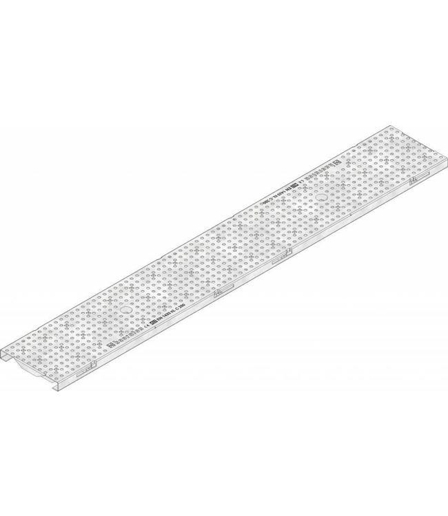 Hauraton Verzinkte Stahllochgitter KS 100, l = 1m, Klasse C / 250kN