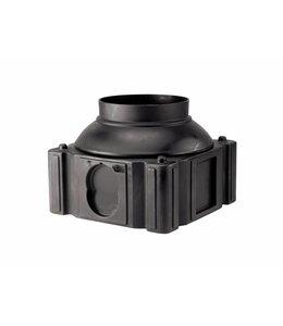 Frankische PE-HD systeemschacht Quadro-Control 1/2