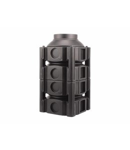 Frankische PE-HD systeemschacht Quadro-Control 2 1/2, 1670mm hoog