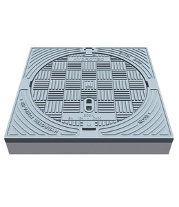 Putafdekking ECON 600, h=125mm