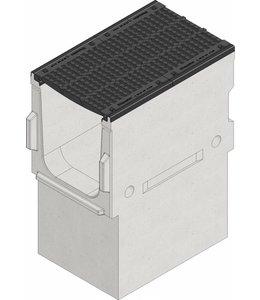 Hauraton Sandfang Faserfix TI 500 Typ 600, l = 1m, Klasse D, 400KN