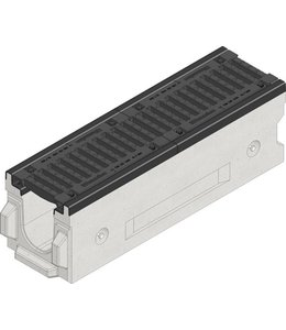 Hauraton Drainage channel Faserfix TI 150 type 200, l = 1m, class F, 900KN
